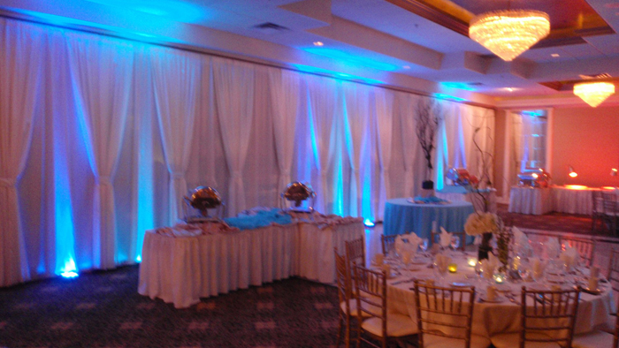 Wedding Lighting at The Seville, Streamwood IL